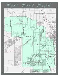 Map Of Ocala Fl Zoning Boundary Map Attendance Zoning Boundary Map West Port
