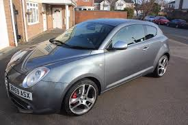 2009 alfa romeo mito grey 1 4tb veloce top spec owned from new fsh