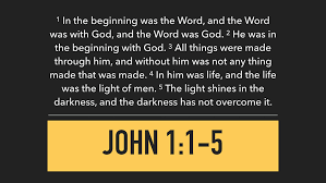 Light Of The Gospel 9 3 17 The Gospel Of John The Word U2014 Watershed Fellowship