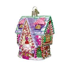 amazon com old world christmas cupcake cottage glass blown