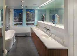 Corian Bathtub Bathroom Floating Round Mirrors With Corian Bathtubs And