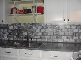 faux brick kitchen backsplash kitchen decoration cool faux cobblestone veneer backsplash white