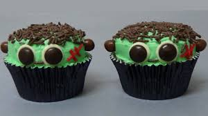 frankenstein cupcakes youtube