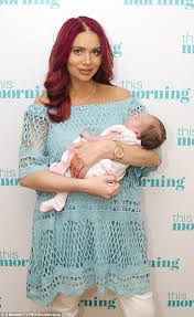 amy childs appears morning daughter polly daily