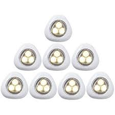 battery operated stick on lights new version ledinus 6 pack battery powered touch induction l led