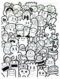 download coloring pages doodle art coloring pages doodle art