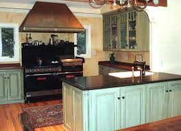 painted and stained kitchen cabinets kitchen cabinets painted copper painting kitchen cabinets will