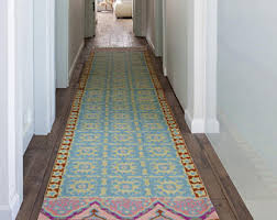 Modern Hallway Rugs Modern Colorful Knotted Embroidery Wool Rugs By Carpetism