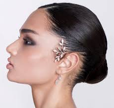 ear cuff shirli s jewelry ear cuffs silver statement tree ear cuff