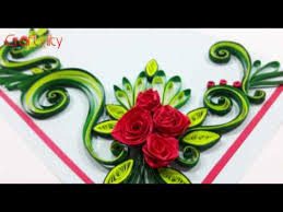 How To Make Easy Paper Flowers For Cards - quilling made easy how to make beautiful flower design using