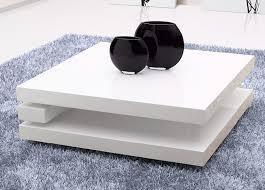 table basse reno carre blanc table basse topkoo