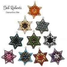 deb roberti u0027s diamonduo ornament u0026 pendant pattern