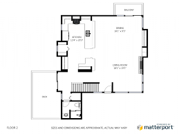 floor palns create schematic floor plans right from your matterport