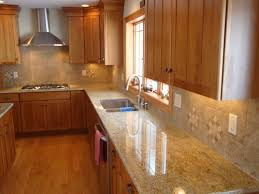 Kitchen With Light Cabinets Light Maple Cabinets With Brown Granite Google Search Kitchen