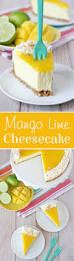 mango lime cheesecake recipe lime cheesecake cheesecakes and