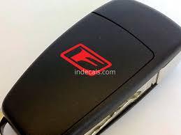 lexus nx key 3 x lexus f sport stickers for key red indecals com