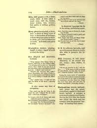 Black And Red Flag Country Page Dictionary Of Slang Jargon U0026 Cant 1889 By Barrere U0026 Leland