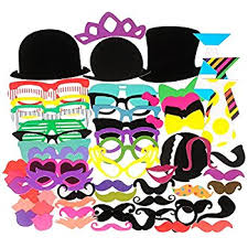 Photo Booth Props For Sale Amazon Com 40pcs Photo Booth Props For Party Favor Toys U0026 Games