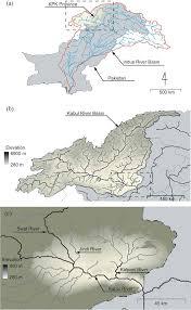 kabul map map of the kabul river basin a at the border of pakistan kpk