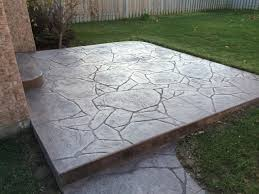 Flagstone Stamped Concrete Pictures by Thames Valley Decorative Concrete Inc Patios