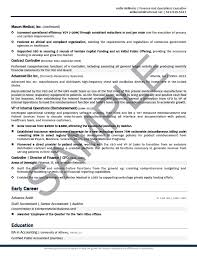 Cfo Resume Executive Summary Awesome Sample Cfo Resume Photos Simple Resume Office Templates