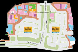 Villages Florida Map by Map The Village Shops