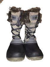 s khombu boots size 9 khombu slope style boots grey us size 9 ebay