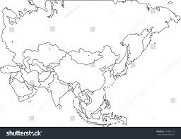 Blank Eurasia Map by Blind Map Asia U2013 Izty