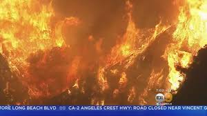 Wildfire La Area by New Evacuations Issued For Burbank As La Tuna Fire Rages Youtube