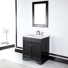 Bathroom Makeup Vanity Pictures by White 30 Inch Single Sink Bathroom Vanity With Matching Framed