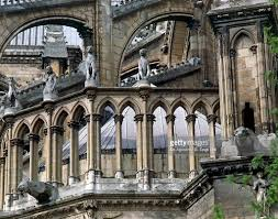 flying buttresses and architectural elements cathedral of
