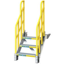 prefabricated metal stairs for industrial stairs in stock
