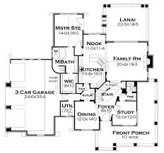craftsman style house plan 3 beds 3 baths 2487 sq ft plan 120