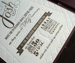 diy letterpress josh s diy letterpress wedding invitations paper crave