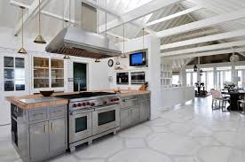 painted kitchen floor ideas entranching honeycomb painted floor contemporary kitchen nate