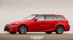 lexus sport car 2016 2016 lexus is rendered in sport wagon guise autoevolution