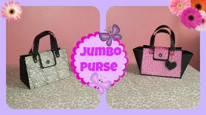 purse gift bags how to make a jumbo purse gift bag