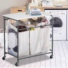 grey laundry hamper grey laundry hamper sorter u2014 sierra laundry laundry hamper