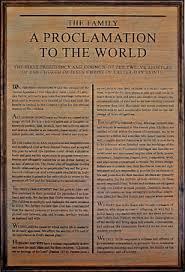 family proclamation lds home decor family proclamation