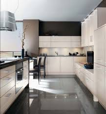 Wall Hung Kitchen Cabinets by Contemporary Kitchen Design Dark Colors Storage Wall Shelves White