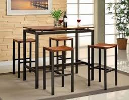 Small Pub Table Sets Foter - Small kitchen table with stools