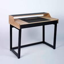 designer desks tables contemporary glass bonvivo designer desk massimo modern