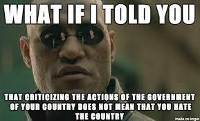 Blind Meme - blind patriotism nationalism is crap meme on imgur