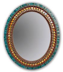 Lightweight Mirror For Wall Butterfly Mirror By Angie Heinrich Mosaic Mirror Artful Home