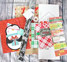 easy wrapping paper neighbor gift free printable tags