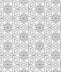 islamic patterns coloring geometrik islamic