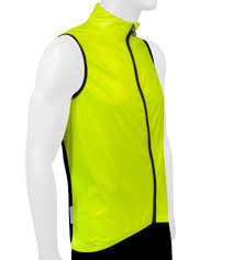 bike riding vest tech designs windbreaker cycling vest u2013 high visibility and
