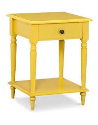 Yellow Side Table Alluring Yellow Accent Table Century Modern Yellow Side Accent
