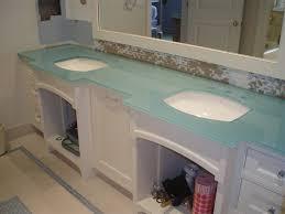 backpainted glass countertops custom