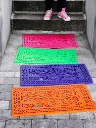 Exterior Door Mat Spray Paint Projects Rubber Door Mat Door Mats And Sprays